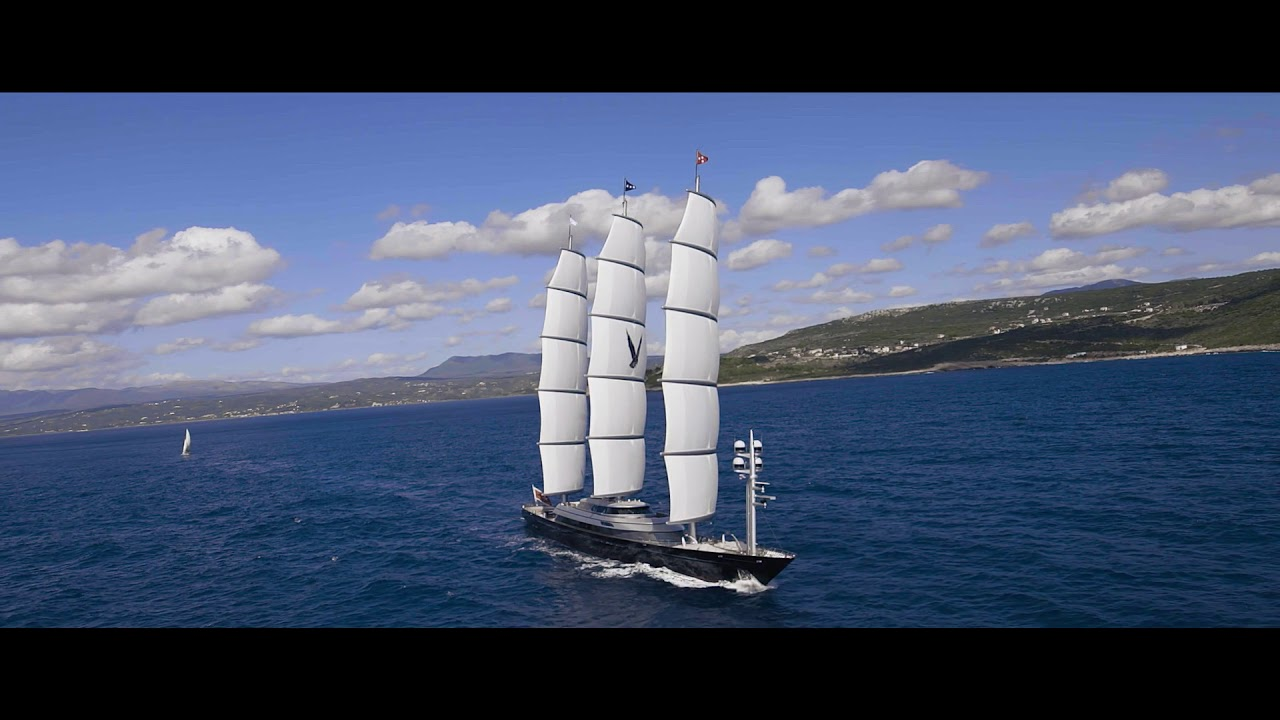 S Y Maltese Falcon For Charter Iyc S Y Maltese Falcon 288 9 88 00m Perini Navi Youtube