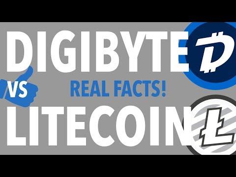 DIGIBYTE VS LITECOIN! WHO WINS? COINBASE?