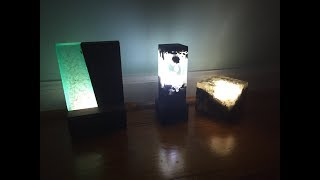 Making Epoxy Resin Lamps! EASY!