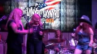 Lynette Skynyrd Sweet Home Alabama  Lynyrd Skynyrd BBQ & Beer Dec 2011