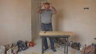 Изготовление деревянной лестницы видео. Монтируем ступени и подступь. Видео 2.(Как изготовить лестницу самостоятельно. Изготовление лестницы. Обшивка лестницы., 2015-01-27T14:54:46.000Z)