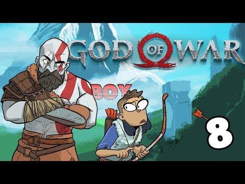 Lighting the Braziers - God of War #8 (Dad of War Gameplay)