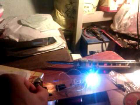 mạch tuần tự ! 5 led đơn , sử dụng ic 555 và 4017