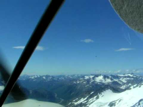 Flying to Pedro Bay, Alaska