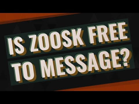 Is Zoosk Free To Message?