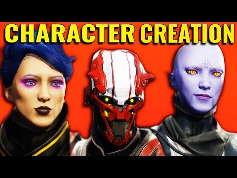 Destiny 2 - An In Depth Look at Character Creation