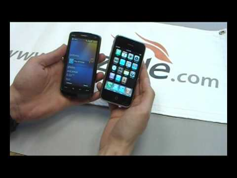 HTC Touch HD WM 6.5 vs. iPhone 3G - Review by Gazelle.com