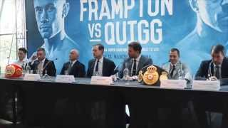 CARL FRAMPTON & SCOTT QUIGG BITTER & HEATED EXCHANGE WITH EDDIE HEARN & BARRY McGUIGAN (UNCUT)