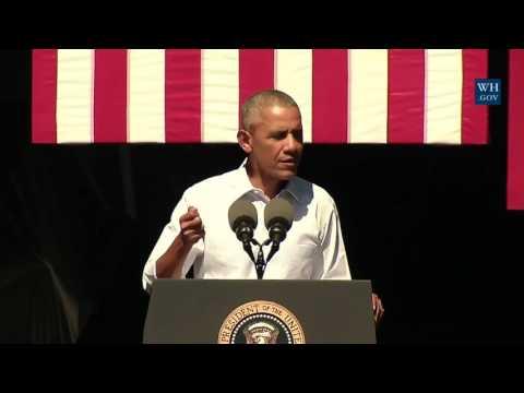 Obama At Lake Tahoe - Full Speech