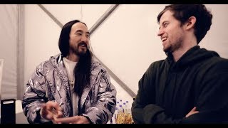 Alan Walker: Unmasked Vlog #12 Steve Aoki's Secret Cake Recipe!