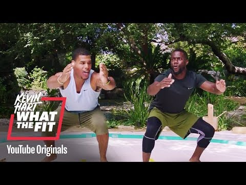 Superior Sumo Squats  Kevin Hart: What The Fit  Laugh Out Loud Network