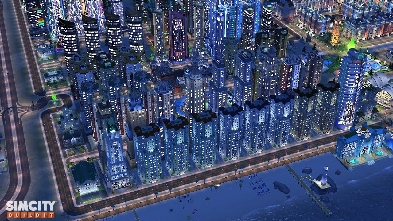 Simcity Buildit Residential Zone Youtube