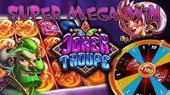 JOKER TROUPE (PUSH GAMING) SUPER MEGA WIN