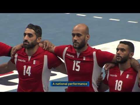 20180122_18th Asian Men's Handball Championship 2018_U.A.E vs Bahrain