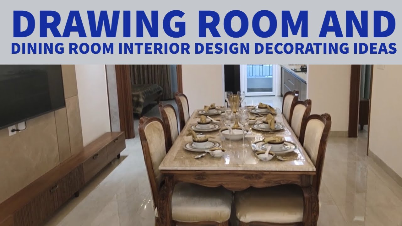 Latest Interior Design Decorating Ideas Drawing Room 13 X 11 Dining Room 19 X 11 Youtube