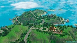 Sims 3 Райские Острова #0 Знакомство с новой семьей