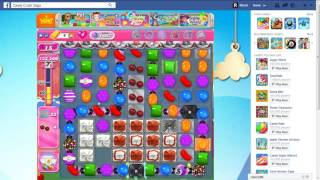 Candy Crush Level 1697 (Perfect Steps) Walkthrough