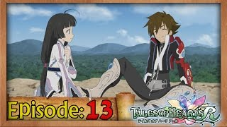 Tales of Hearts (R) Playthrough Ep 13: Peridot -The Shard of Belief-