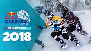 Who won Red Bull Crashed Ice 2018 Finland - Men's Winning Run.