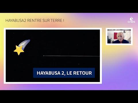 Hayabusa2 rentre sur Terre !