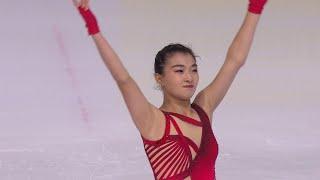 Каори Сакамото. Короткая программа. Женщины. Internationaux de France. Гран-при по фигурному катанию
