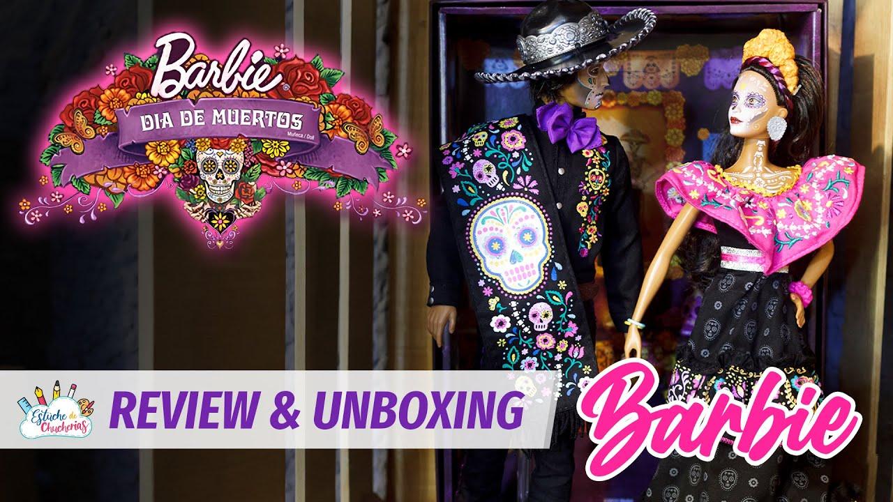 BARBIE Y KEN DÍA DE MUERTOS 2021 - UNBOXING & REVIEW - Estuche de Chucherías Toy & Doll Studio