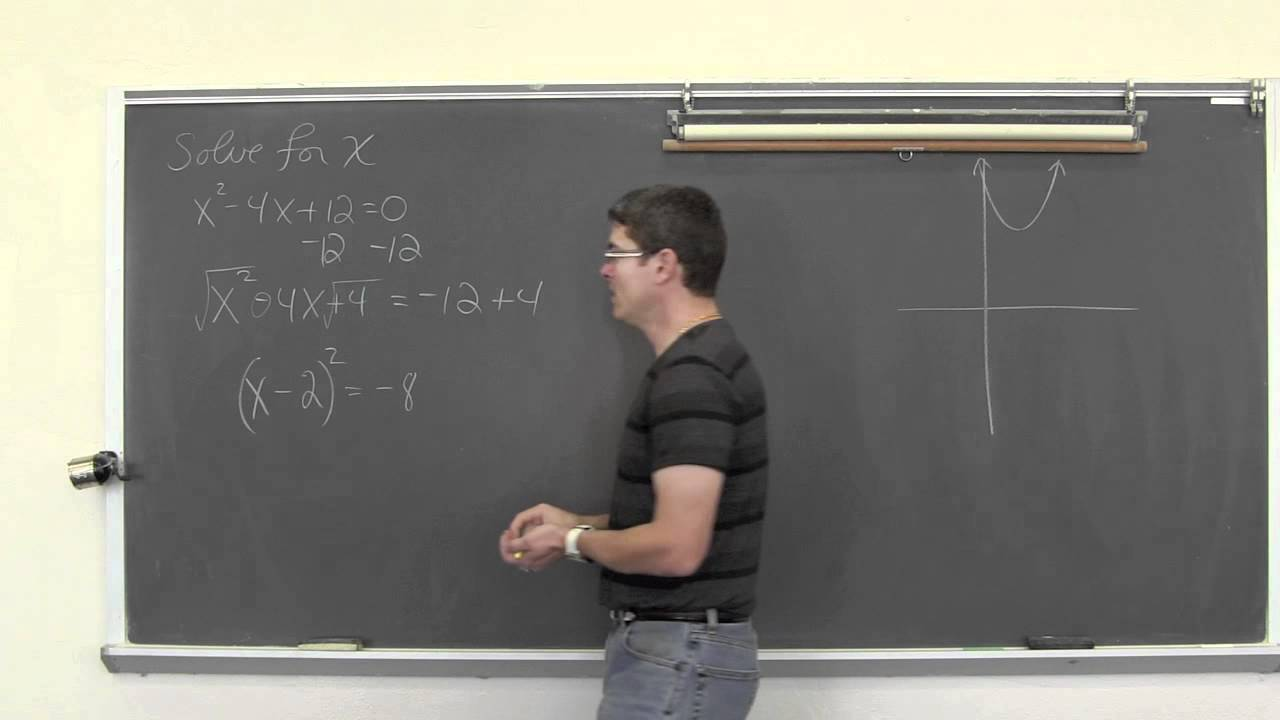 Completing The Square To Solve Quadratic Equations 20161125