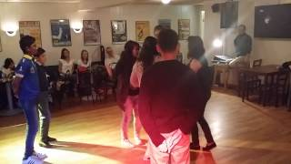 Norwegians and Armenians dance together