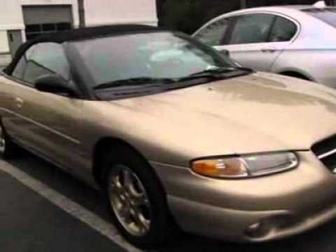 United Bmw Roswell >> 1998 Chrysler Sebring 2dr Convertible JXi Convertible ...