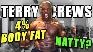 51 Year Old Terry Crews Claims 4% Body Fat AND Natty…
