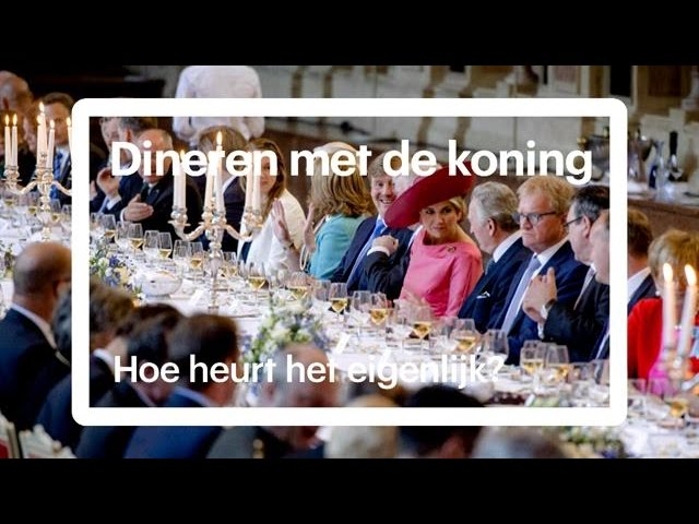 Zes etiquette-regels voor een diner met de koning - RTL NIEUWS
