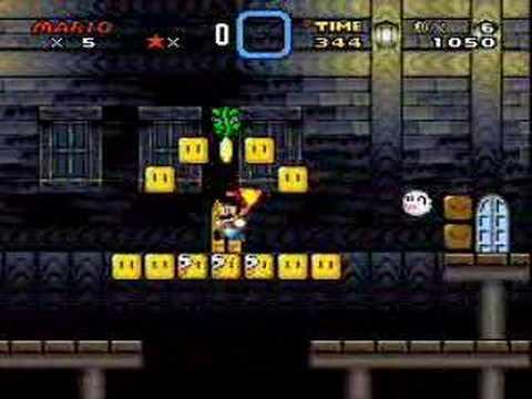 Super Mario World Secret: Donut Secret House-Secret Exit to Star Road