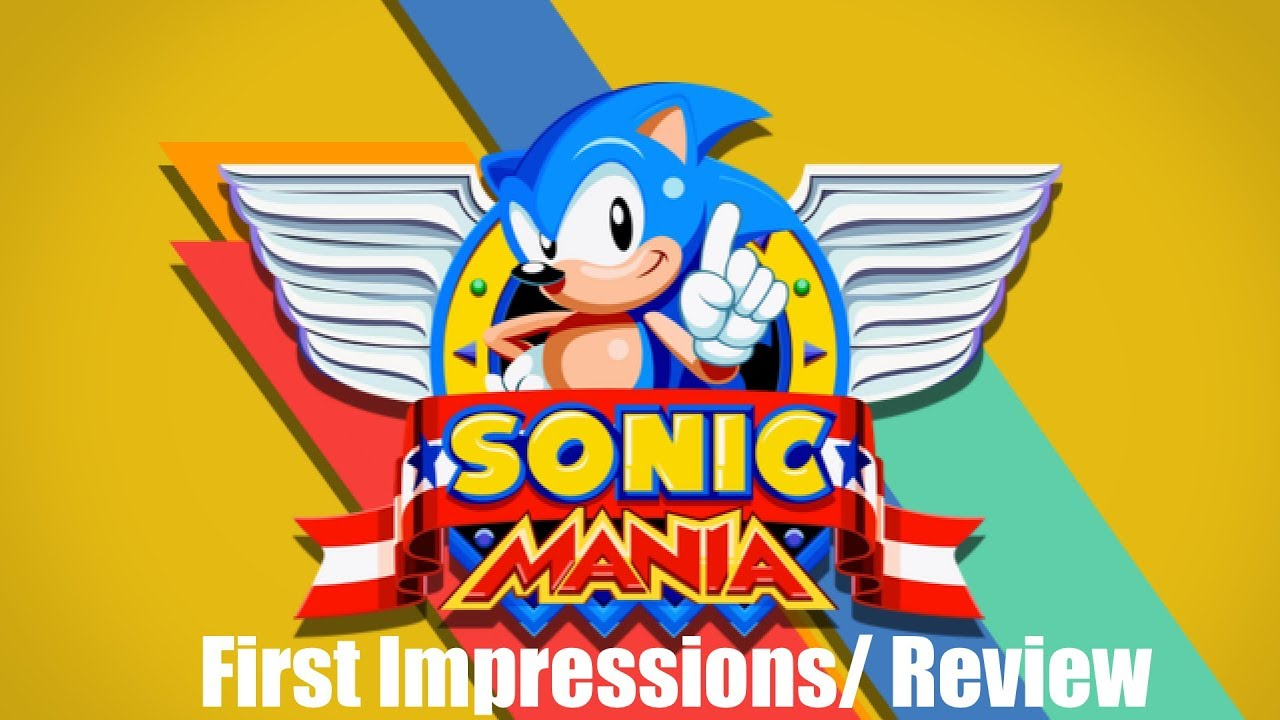 Sonic Mania Gameplay and Review (Xbox One, Nintendo Switch, PS4)