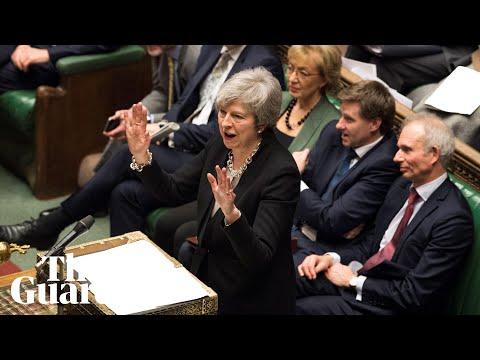 Brexit highlights: parliament votes for amendment on replacing Irish backstop
