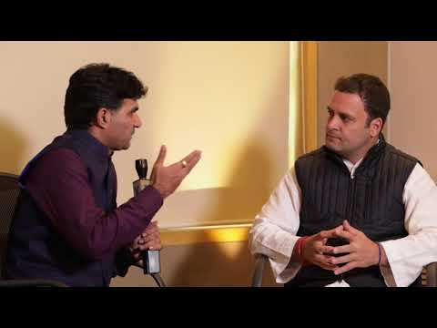 Congress President Elect Rahul Gandhi Interview with Vtv