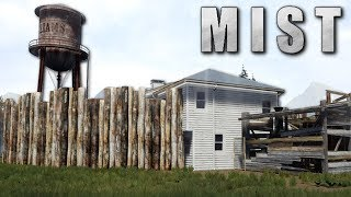 FINISHING THE BASE WALLS! - Mist Survival Gameplay - Zombie Apocalypse Survival Game