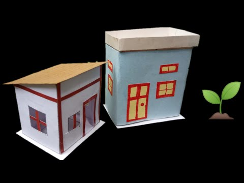How to make a beautiful paper house at home, 9 Aug 2019