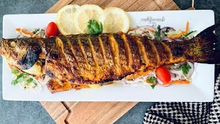 EASY BUT MOIST AND TASTY OVEN GRILLED FISH