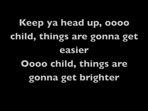 2pac - Keep Ya Head Up (Lyrics)