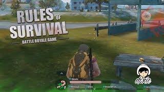MATI KONYOL #UserNoRumput -  Rules of Survival : Battle Royale #1