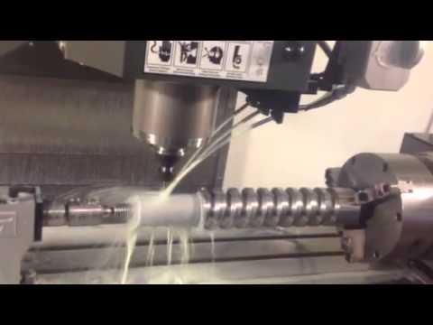 4th axis machining