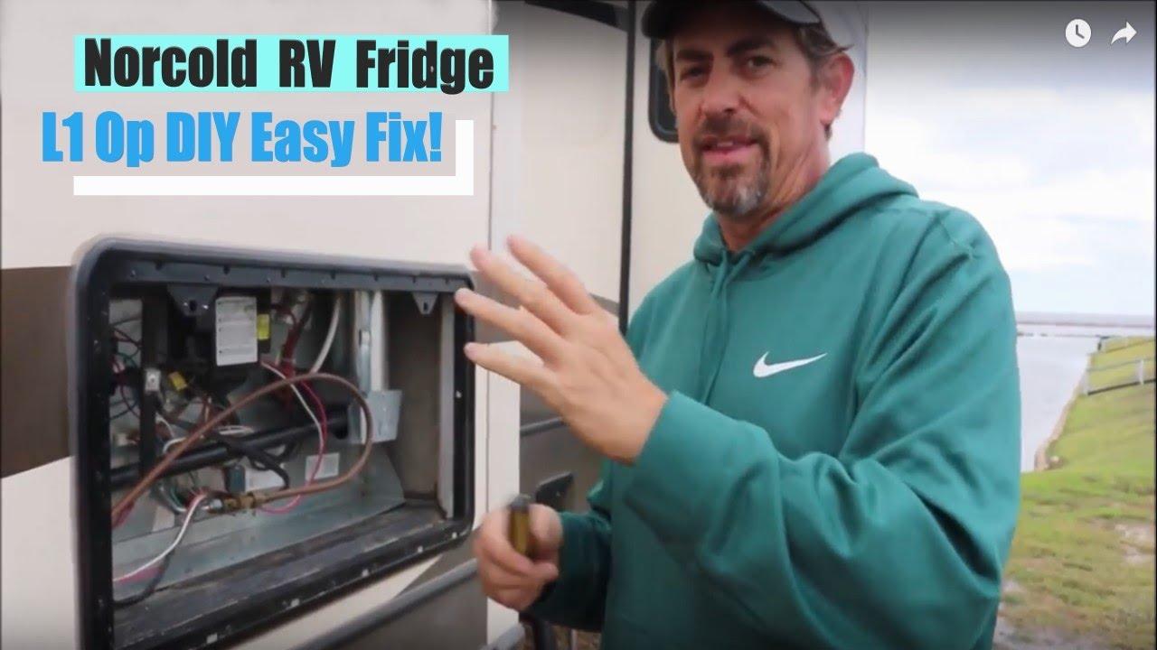 Norcold RV Fridge L1 Op - Quick DIY Fix