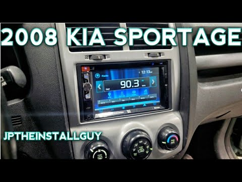 2008 Kia Sportage Radio Removal Replacement And Install Youtube
