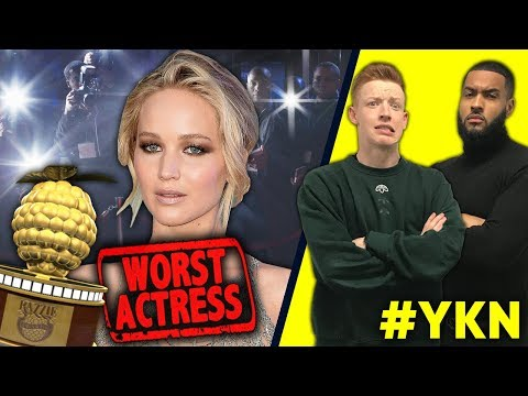 Was Jennifer Lawrence The WORST Actress Of 2017?!  | You Know Nothing | Sav vs. Joe #1