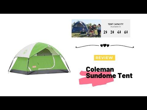 Coleman Sundome Tent review