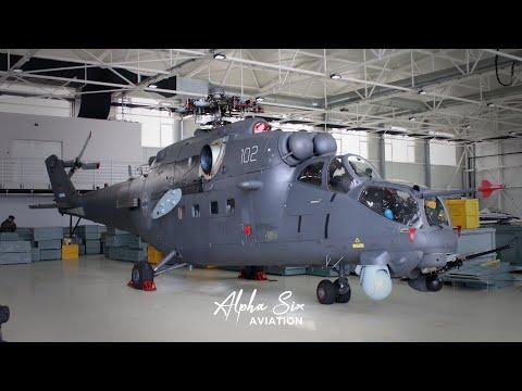 ONO ŠTO NISTE VIDELI!! Helikopteri Mil Mi-35 U Stanju U Kom Su Stigli U Srbiju.