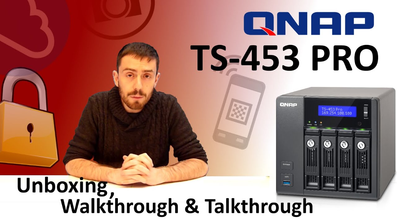 The Qnap TS-453 Pro Unboxing, Walkthrough and Talkthrough with SPANTV