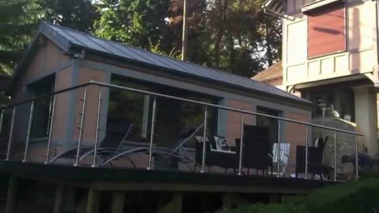 Terrasse bois pilotis Essonne Artibois 91  YouTube