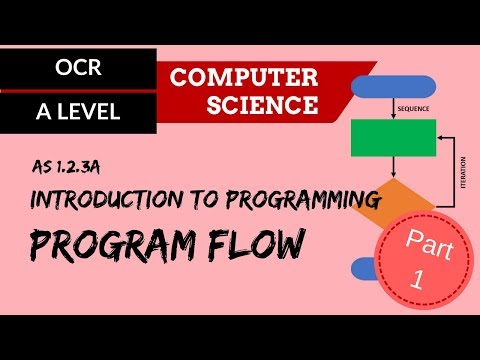 A level Intro to programming - Part 1, program flow