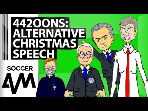 442OONS: An Alternative Christmas Speech from Mourinho, Klopp, Wenger, and Guardiola